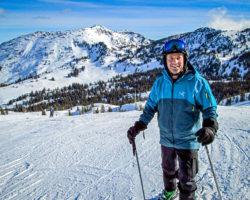 Skiing at Snowbird, UT
