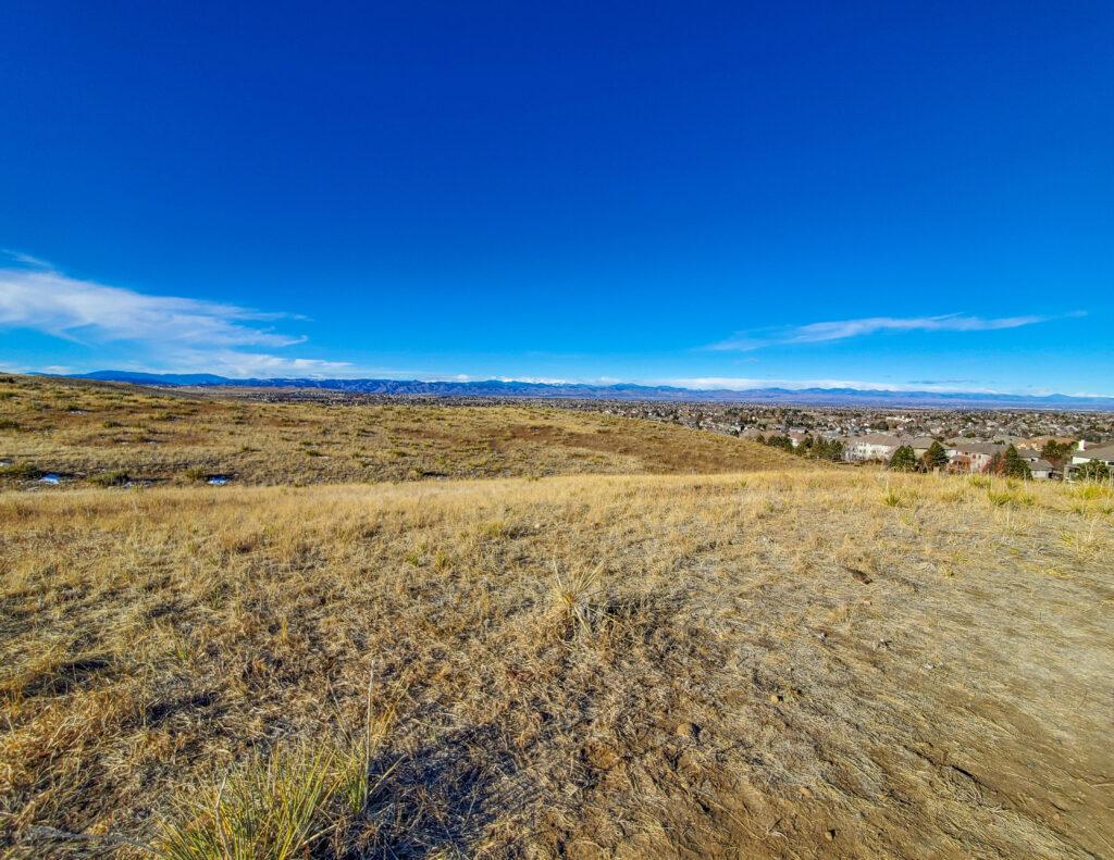 Bluffs Regional Park Denver View