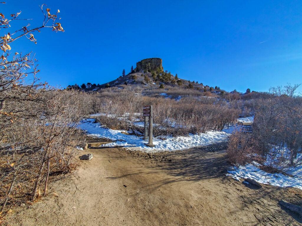 Rock Park Trail Junction