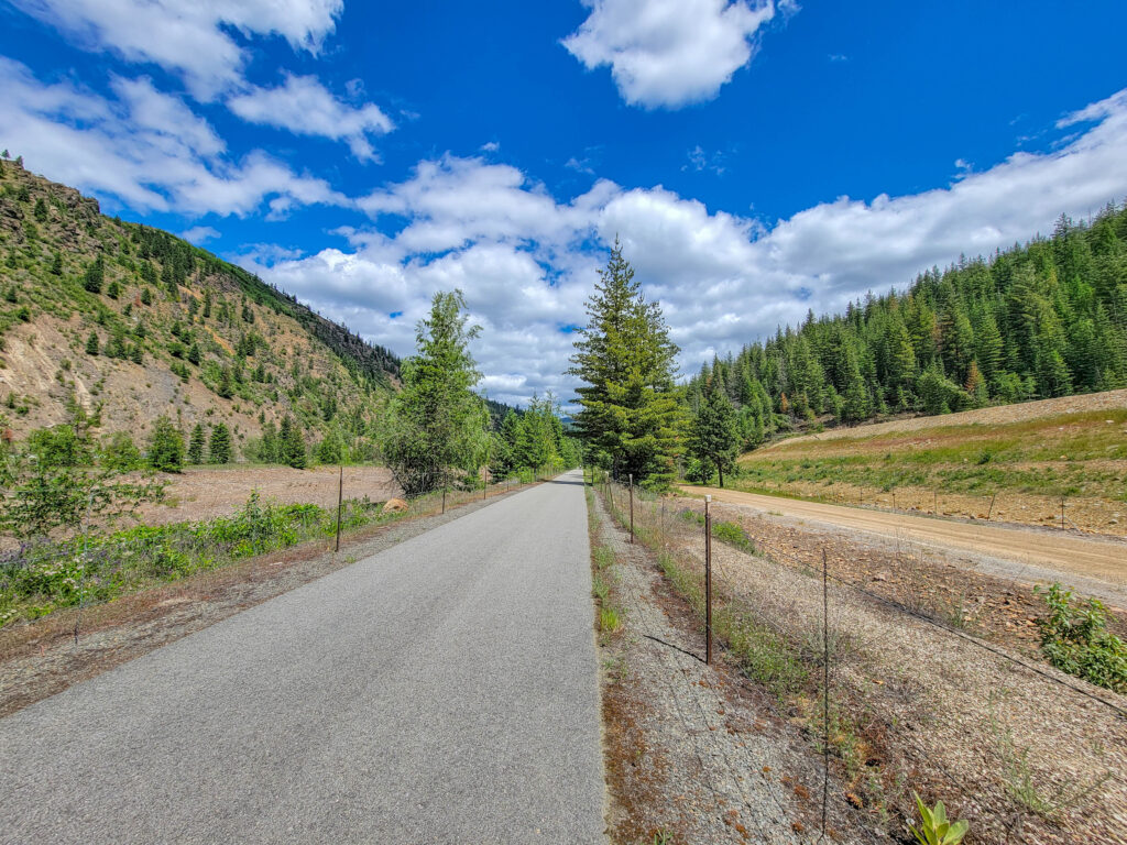 Section of Eastern Trail of the Coeur d'Alenes