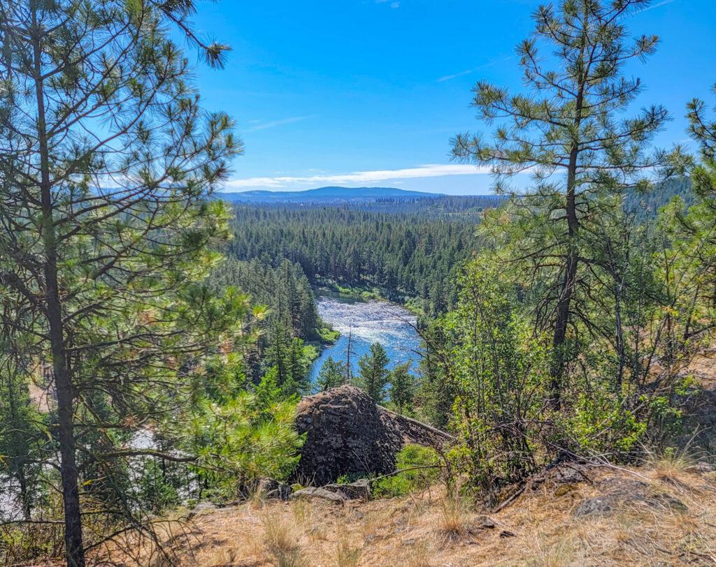 Spokane Centennial Trail View
