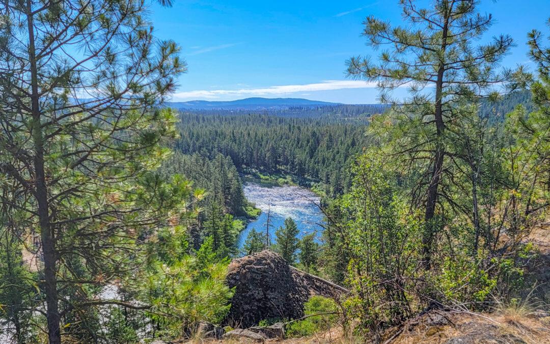 Nice rails to trails – Spokane River Centennial Trail, WA