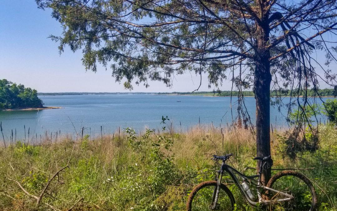 Mountain Bike Ride at Smithville Lake Missouri