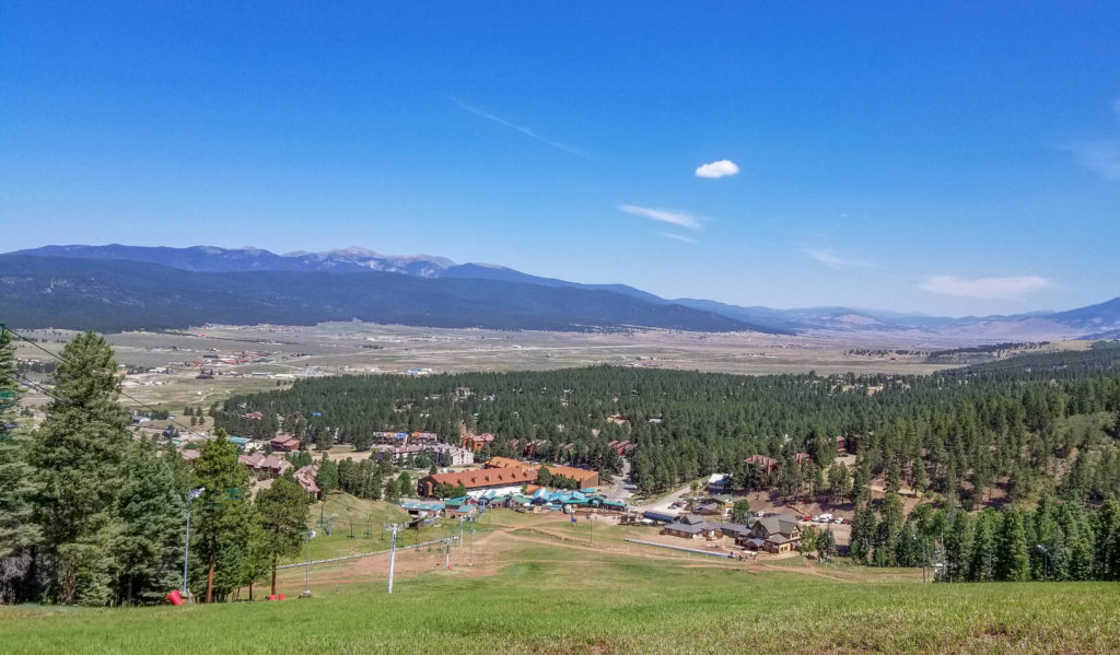 View from Angel Fire Bike Park