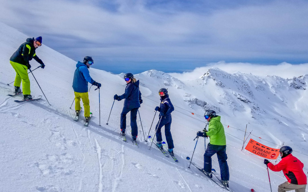 Ski trip to Sierra Nevada, Southern Europe's Highest Peak