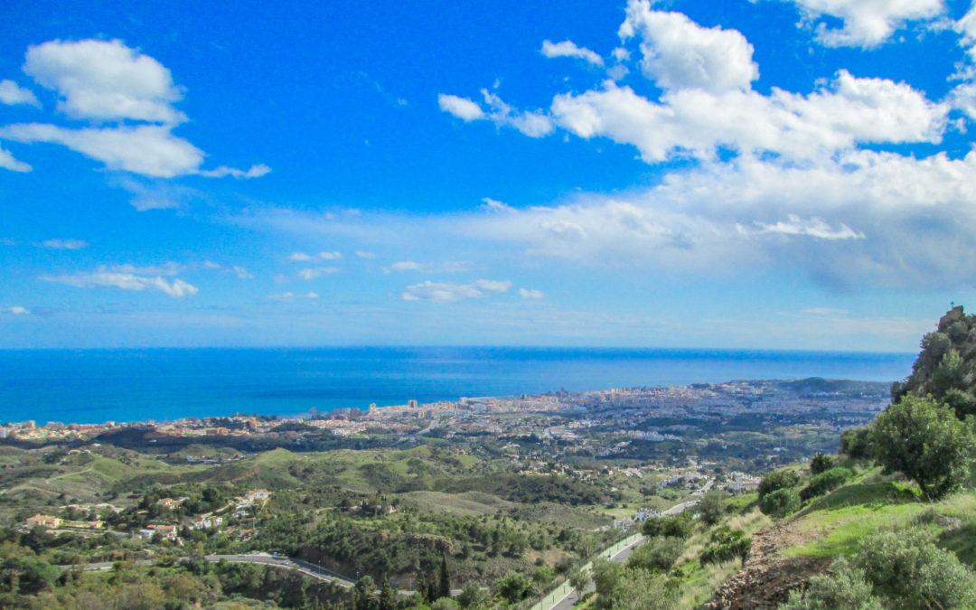 Mijas, Spain – Beautiful views from historic white village