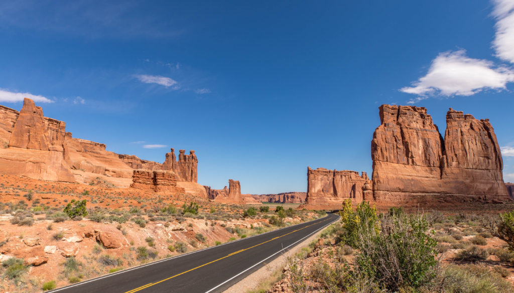 Arches National Park Vista